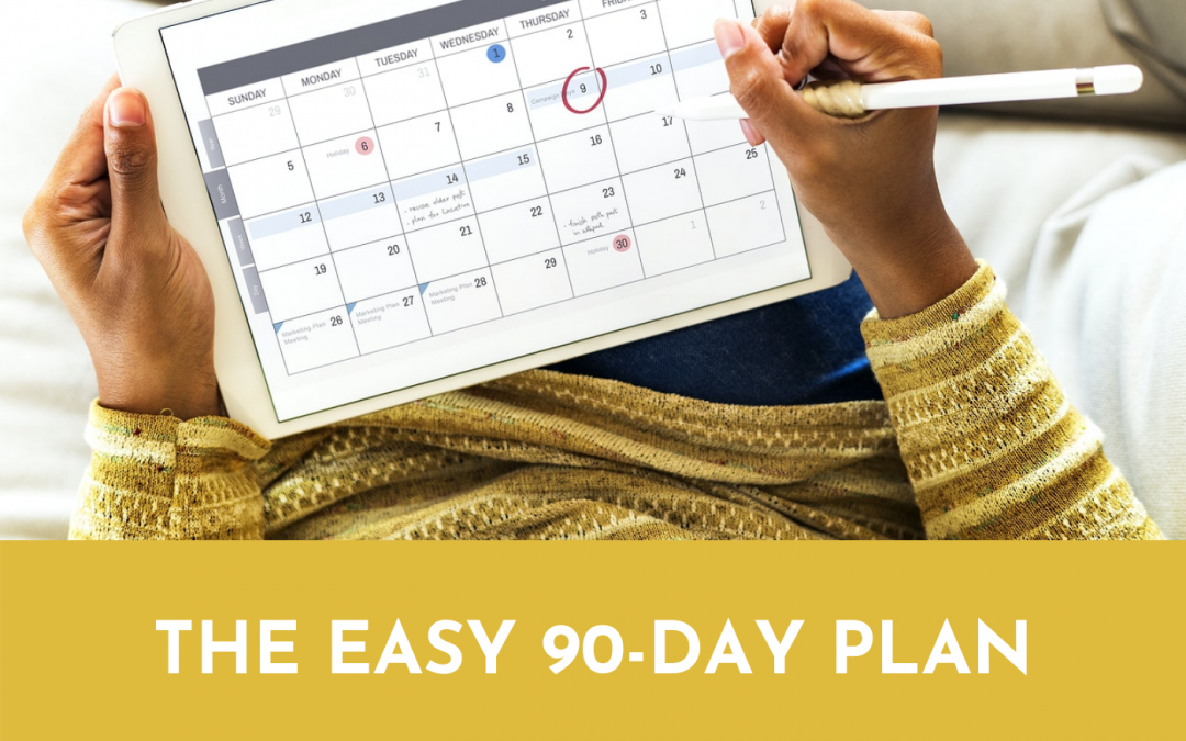 #063: The Easy 90-Day Plan