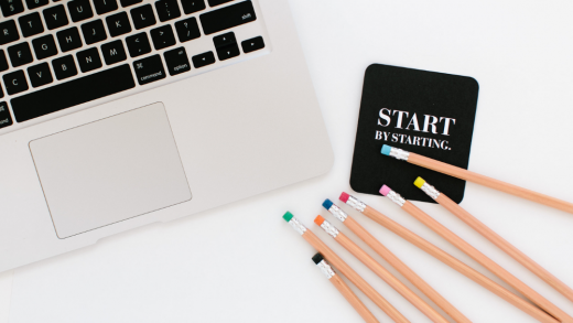start by staring to have the career you want